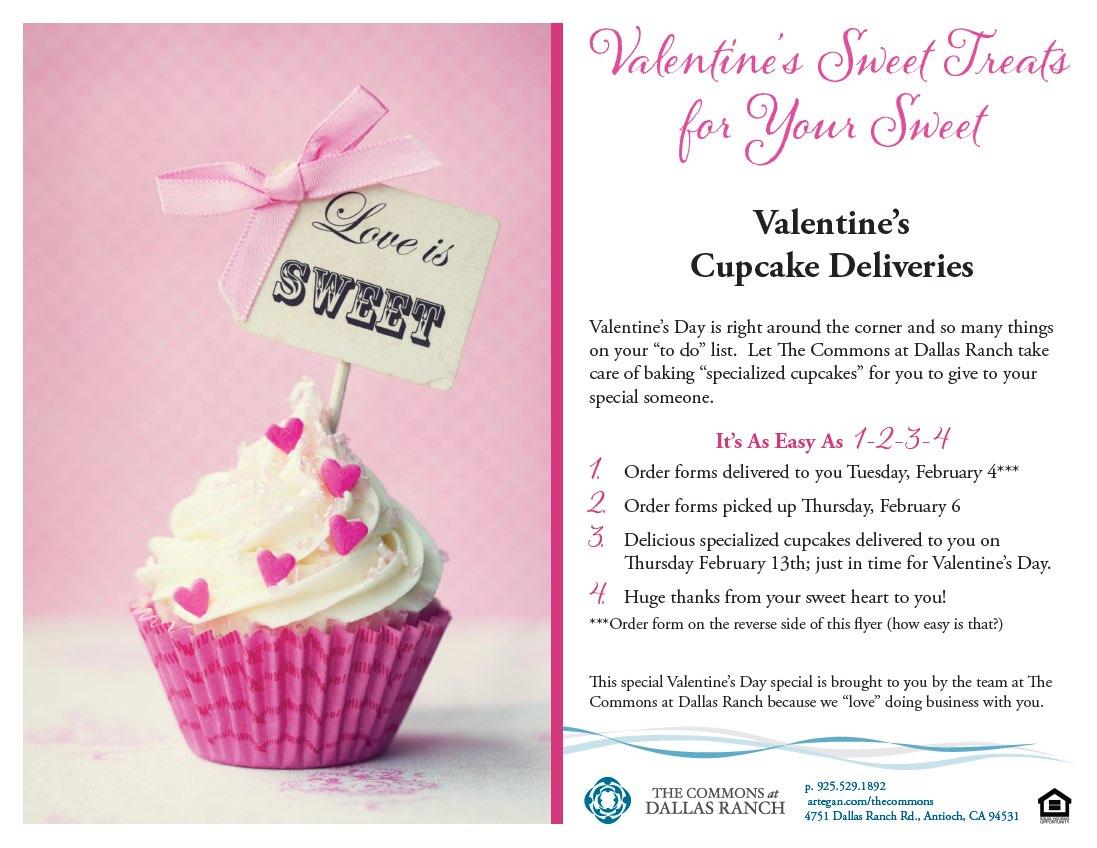 Cupcake Order Flyer U0026 Form